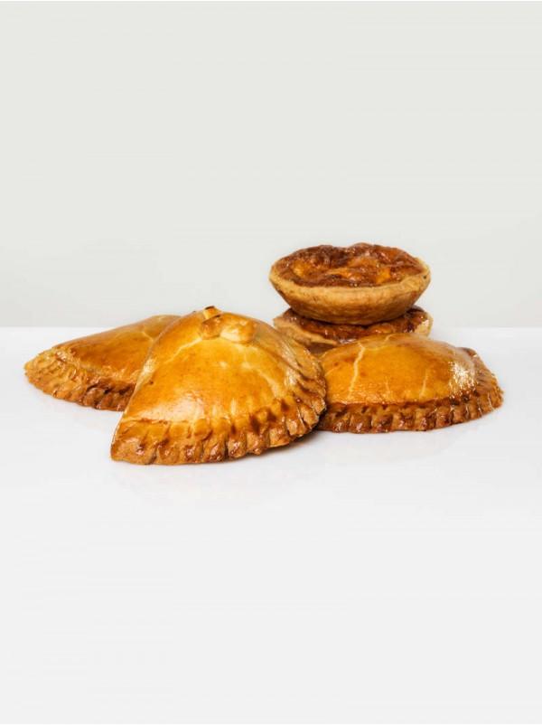 Empanadillas y pasteles Quiches