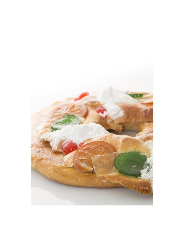 Roscón de Reyes 12-15 Personas, para recoger en tienda.